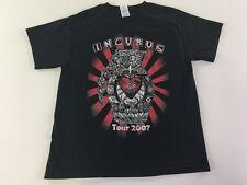 Incubus 2007 Tour T Shirt L Black Band Concert Music