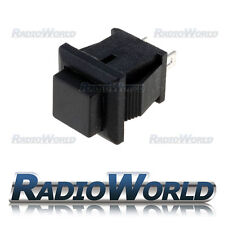 Black Momentary OFF-(ON) Square Push Button Switch SPST-NO 12v Car Dash Horn