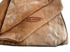 Solaron Korean Blanket Thick Mink Plush twin/full acrylic beige light brown new