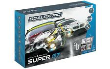 Scalextric Super GT ARC One BMW Z4 1/32 Slot Car Race Track Set C1360