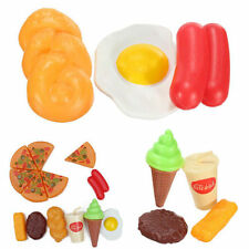 13X for Childrens Kids Pizza Slices Cola Ice Cream Pretend Kitchen Play Food Toy