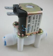 "24V 1/4"" Inlet Feed Water Solenoid Valve for RO Reverse Osmosis Pure System"