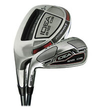 NEW Adams 2014 A12OS Iron Set 4h 5h 6h 7-PW AW Stiff Flex LEFT HANDED