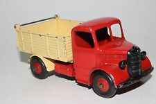 1950's Dinky #410 Bedford Dumptruck, Original Red & Cream, #3
