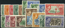 Jamaica SG 121-33a 1938-52 unmounted set of 18. Catalogue Value £150