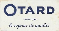 Buvard Vintage  OTARD Cognac de Qualité