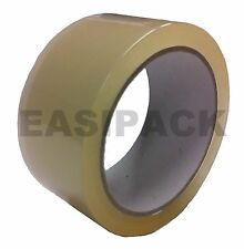 36 x Rolls Packing Economy Box Parcel Tape (48mm x 66M) TRANSPARENT /CLEAR