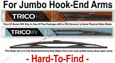 "TRICO 67-324 Wiper Blade (for RV, Bus & Commercial Truck) 32"" HD 12x4 Hook Arms"