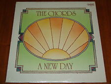 THE CHORDS - A NEW DAY - RARE 1977 STILL SEALED LP ! ! !