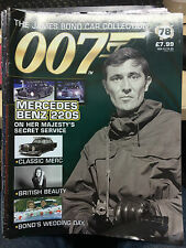 JAMES BOND CAR COLLECTION MAGAZINE pick from my list