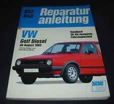 Reparaturanleitung VW Golf 2 II Typ 19E Diesel + Turbo Diesel ab August 1983!