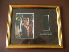 Original Lord Of The Rings  Ltd Edition Framed Film Cell Presentation  C/W COA