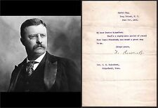 PRESIDENT THEODORE Teddy ROOSEVELT - 1916 TLS Rare SIGNED LETTER