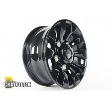 LAND ROVER Saw Tooth 7X16 Gloss Black Alloy Wheel (LR025862)