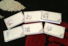 Peter Rabbit Place Cards Birthday Party Baby Shower