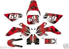 NG racing HONDA MX CRF 50 CRF50 Motocross GRAPHIC KIT CUSTOM PLATE 2004 - 2012