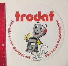 Aufkleber/Sticker: Trodat - Der Stempel Mit Den Neuen Postleitzahlen (060516145)