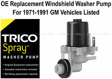 Windshield / Wiper Washer Fluid Pump - Trico Spray 11-504