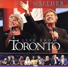 Live from Toronto - Bill & Gloria Gaither (CD, Feb-2006) Homecoming Tour NEW