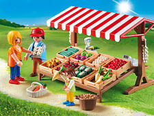 PLAYMOBIL® 6121 Farmer´s Market - NEW 2015 - S&H FREE - Not available in USA