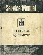 INTERNATIONAL TRACTOR SM-14 ELECTRICAL EQUIPMENT SM14 WORKSHOP SERVICE MANUAL