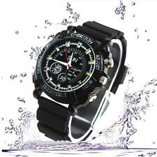 Mini DVR Waterproof HD 1080P Spy Watch Camera Night Vision Camcorder 32GB dfus
