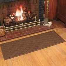 Dark Brown Fireplace Mat Indoor Anti Non Slip Floor Door Entrance Garden Doormat