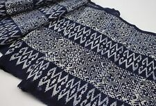 Hmong Traditional Graphic Fabric Printed by Hand Vintage Style Fabric Ins08