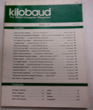 Kilobaud Microcomputing Magazine Artillery Practice June 1977 112014R