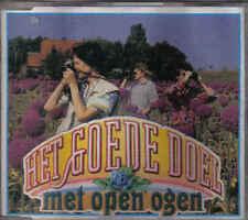 Het Goede Doel-Met Open Ogen cd maxi single