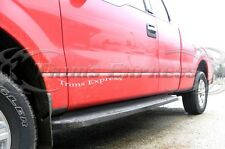2009-2014 Ford F-150 Super Cab 8' Long Bed No Flare Groove Insert Line Trim