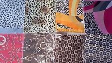 Joblot 40pcs Faux silk scarf/scarves NEW wholesale 50x50 cm Lot A1