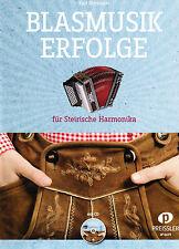 Territorio harmonica notas: blasmusik éxitos con CD-Mango de fuente