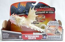 GENUINE HOW TO TRAIN YOUR DRAGON ACTION DRAGON SCREAMING DEATH CHOMPING TEETH