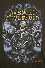 Avenged Sevenfold T-Shirt Concert Tour 2001 Welcome To The Family Small Medium