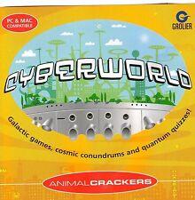 Cyberworld Animal Crackers-educativo de 7 a 12 años de Windows 95, 98, XP