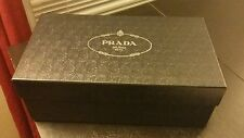Prada milano shoe box with dust bag and original paper packaging BOX ONLY
