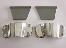 Lambretta Series 1 2 & 3 Headset Mirror Stem Flyscreen Brackets with Rubbers x1