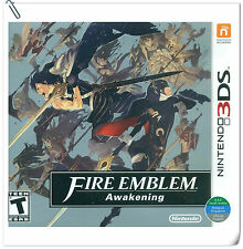 3DS Nintendo Fire Emblem: Awakening Strategy Games