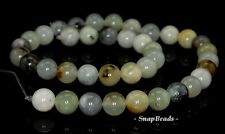 10MM PARTY MIXED JADE GEMSTONE RAINBOW ROUND 10MM LOOSE BEADS 7""