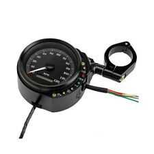 Motorcycle Speedometer Speedo Side Mount for Harley Davidson Sportster Cafe
