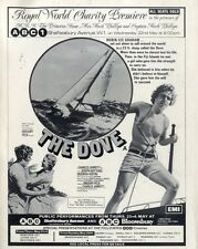 1974 Movie Advert 11x8 The Dove (Joseph Bottoms & Deborah Raffin)