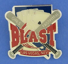 Girls Fastpitch Softball Baseball Lapel Pin Bats Balls Aces Las Vegas Nevada