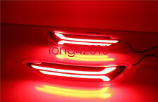 For Hyundai Tucson 2015-2016 LED Rear Bumper Brake Lights Turn Signal Light DRL