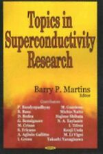 Topics in Superconductivity Research (2005, Hardcover)