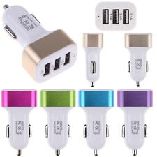 Universal Triple USB Car Charger 3 Port Adapter 2A 2.1A For iPhone Samsung ipod