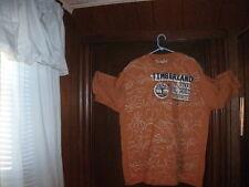 BOX #61 Timberland t-shirt short sleeve mustard Orig RUGG AUT size XLTall NEW