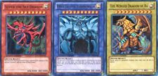 YuGiOh Egyptian Gods Set YGLD Ultra Rare