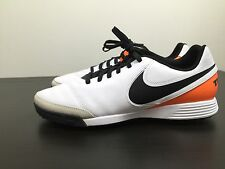 Nike Tiempo Genio Leather Turf Futsal Soccer Shoes Football Size 11.5 M Mens