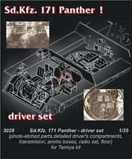 "CMK 1/35 PzKpfw.V Ausf.G ""Panther"" Sd.Kfz.171 Driver's Set (for Tamiya) 3029"